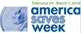 America Saves Week February 24-March 1, 2014