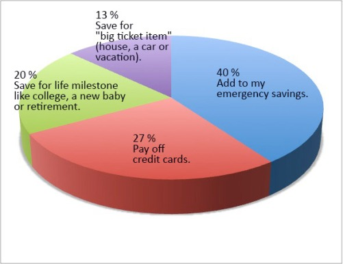 2014: What is your financial goal poll results