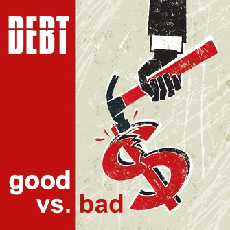 Good debt vs. bad debt