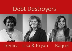 Debt Destroyers photo all participants-no logo